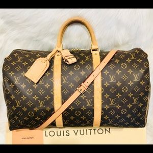 Authentic Louis Vuitton Keepall 50 #5.4T